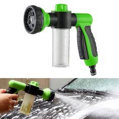 新しい到着多機能オートカー発泡水8スプレーパターン調節可能な水鉄砲高圧洗車散水ツール
