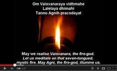 Agni Mantra (Weight Loss Mantra and much more)-Agni is one of the most important of the Vedic gods. He is the god of fire, the messenger of the gods, the acceptor of sacrifice. Agni is in everyone's hearth; he is the vital spark of life, and so a part of him is in all living things; he is the fire which consumes food in peoples' stomachs, as well as the fire which consumes the offerings to the gods. He is the fire of the sun, in d lightening bolt, and in d smoke column which holds up d…