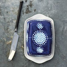 How pretty is this?! - John Newdigate Butter Dish - west elm