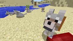 Orphea2012 Youtube et Minecraft: Minecraft | Ma meute de chiens qui aime mon lit