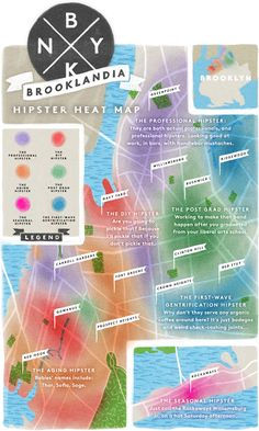 The Hipster Heat Map Of Brooklyn #Refinery29