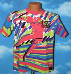 Body Glove 1988 All Over Print Dead Stock T-shirt