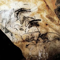 A Gallery of Cave Paintings from the Chauvet Cave as part of the Bradshaw Foundation France Rock Art Archive. The Chauvet Cave is one of the most famous prehistoric rock art sites in the world. Chauvet Cave, Lascaux, Cave Drawings, Art Premier, Painting Gallery, Art Sites, Art Graphique, Tempera, Ancient Artifacts