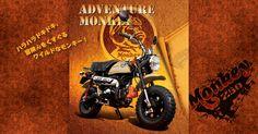 Mini4temps Mini4stroke mini4takt 4mini new Honda Z50j Monkey Adventure