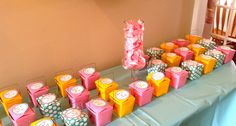 kitchen themed bridal shower; party favors