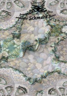 MONATSAKTION  Januar 2018   Gehäkelte Schmuck Kunst Paper, Atelier, January, Creative, Schmuck, Crafting, Kunst