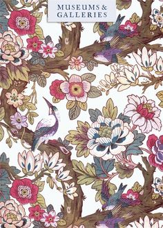 Greeting Cards » Vintage Textiles » Birds in the Forest » Birds in the Forest - Museums & Galleries Marketing Ltd, Fine Art Cards & Social Stationery