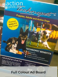 Photo quality advertising board. No minimum. No setup fees. Event Signage, Outdoor Signage, Corrugated Plastic Signs, Photo Direct, Real Estate Signs, Clip Frame, Name Stickers, Dog Activities, Plastic Sheets
