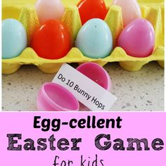 This is a fantastic game to get kids moving over Easter time and burn some of that sugar off! My kids had a ball with this one and I'm sure your kiddies will too! To make your own you will need: 12 Plastic Eggs An empty Egg Carton and our Free Printable Directions: Simply print out...Read More »