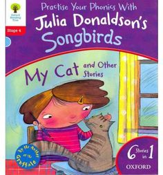 The Children's Laureate and best-selling author of The Gruffalo, Julia Donaldson, has carefully created the Songbirds Phonics series to support children who are learning to read. It builds children's confidence through a clear phonics development with gradual progression. This Level 4 Songbirds collection contains 6 exciting phonics stories in 1!