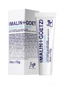 CEW 2012 in the running: Malin+Goetz/Strip Ministry of Waxing Ingrown Hair Cream  the ingrown hair cream addresses irritation associated with hair removal for women and men, including ingrown hair and razor bumps. Our plant based, oil-free cream synthesizes natural botanicals allantoin and chamomile to calm and soothe, glycolic and salicylic acid to exfoliate, and vitamin B5 to promote skin repair. Natural fragrance and color. A perfect-post shave or wax treatment for face and body. $34