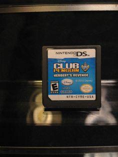 Club Penguin: Elite Penguin Force- Herbert's Revenge Nintendo DS. 3DS, XL, DSi