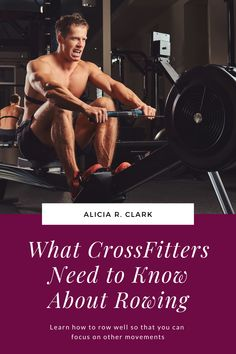Alicia R. Clark | As a CF-L1, I've seen so many different technical issues when it comes to rowing. I know that rowing is not something that's focused on in a WOD. However, rowing can really hurt your workout score if you don't do it correctly. If you don't row well, you can hurt yourself. Here are six things that as a rowing coach, you should know. #learntorow #howtorow #indoorrowing #rowingmachine Indoor Rowing, Rowing Machines, It Hurts, Wellness, Workout, Work Out, Exercises