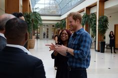 "Kensington Palace on Twitter: ""Prince Harry meets @NazProjectLdn staff and supporters working to support the sexual health and HIV/AIDS needs of BAME communities in London"