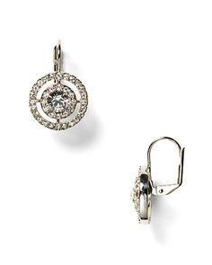 Carolee LUX Crystal Pavé Stone Drop Earrings - Bloomingdale's $55