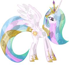 Crystal Princess Celestia by ~HampshireukBrony on deviantART