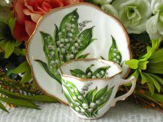 Rosina Bone China England Tea Cup And Saucer Set by WHSelection