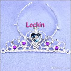 8 Different Styles Frozen Tiaras Party Gift Children Dress Up Charming Crown Princess Bright Crown Anna And Elsa Crown Hot Sale 2015 from Lockin,$0.79 | DHgate.com