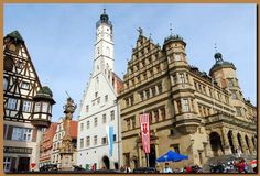 BEEN (and must go back!) - Rothenburg ob der Tauber, Germany - it's like Christmas in a village!