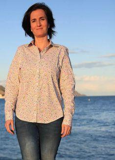 2bd91465392 PDF Sewing Pattern - Anna Shirt Sewing Pattern Pdf Sewing Patterns