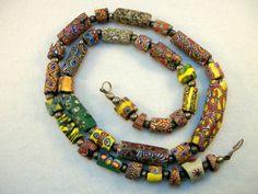 Venetian glass trading beads