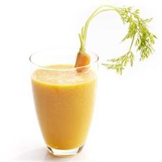 Wortel, nectarine & gembersap