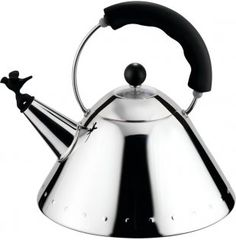 Alessi kettle designed by Micheal Graves (1985)