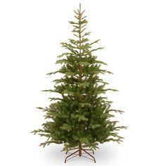 Norwegian 7.5' Green Spruce Artificial Christmas Tree