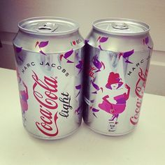 Yum love this coca cola light by Marc Jacobs cute