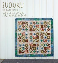 Sudoku - great for a sampler quilt!