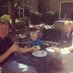 On Fridays, Fibernet Corp encourages employees to invite their families to our BBQ. Sales Rep Karl, his wife Lindsay, and their 2 sons James and Ezra are enjoying the Utah sun!