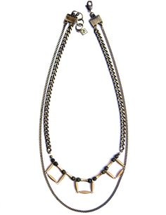 Empress No. Gemstone Necklace, Arrow Necklace, Layered Chains, Jade Beads, Fall Winter 2014, Dress To Impress, Gemstones, Jewelry, Jewlery