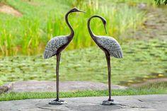 Cultured Crane Pair