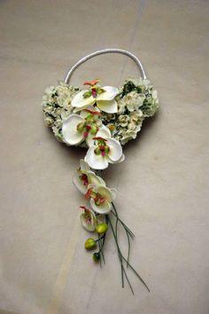 Wedding floral purse