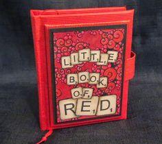 De Stempelwinkel - Designteam      : LITTLE BOOK OF RED (ATC'S)