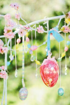 Easter Brunch Décor Egg Branch
