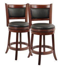 Boraam 9824 Augusta Swivel Stool, 24-Inch, Cherry, 2-Pack  http://www.furnituressale.com/boraam-9824-augusta-swivel-stool-24-inch-cherry-2-pack/