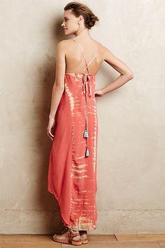 Viha Tie-Dye #Maxi Dress #Anthropologie #Gypsy05
