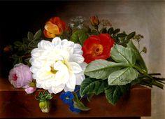Johan Laurentz Jensen Flower painting