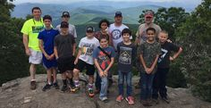 Nine Royal Rangers and three commanders from Outpost 106 recently hiked 14 miles along the Appalachian Trail to include ascending to the top of Blood Mountain. At 4,459', Blood Mountain is the highest mountain in Georgia on the AT and the second highest overall in Georgia. The Rangers completed the hike in two days.