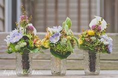 Rustic Wedding Bouquets // Dudley Farm Wedding // Cali & Josiah // Daphne and Dean Photography