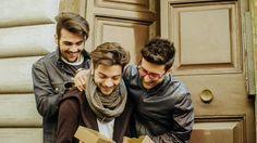 Alcune immagini della postcard de @ilvolo @GianGinoble @IBoschetto @piero_barone #Eurovision #escita