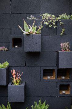 Modern and Elegant Vertical succulent Wall Planter Pots Ideas
