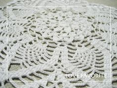 Crochet , Lace ©Love Favorite