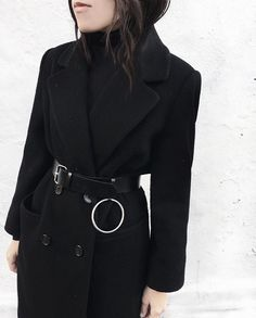 from a warmer (read: 38-degree) morning | ring belt from @pixiemarket
