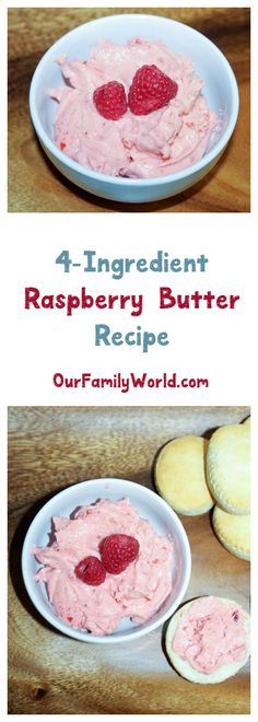 This creamy raspberry compound butter recipe made with Finlandia imported butter is perfect for both everyday and holiday breakfasts! Check it out! #ad #FinlandiaButter
