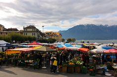 Vevey Farmers Market - Tuesdays and Saturdays, I think Vevey, My Heritage, Hostel, Farmers Market, Wii, Switzerland, Adventure Travel, Street View, Tours