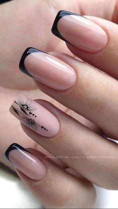 Manicure Nail Designs, Acrylic Nail Designs, Nail Manicure, Toe Nail Designs, Chic Nails, Stylish Nails, Nagel Bling, Nagellack Design, Elegant Nails