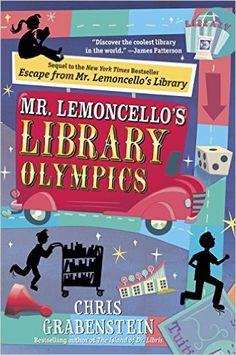 Amazon.com: Mr. Lemoncello's Library Olympics eBook: Chris Grabenstein: Kindle Store