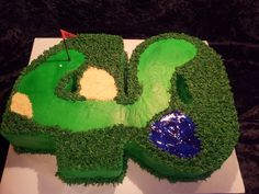 40 Golf Cake